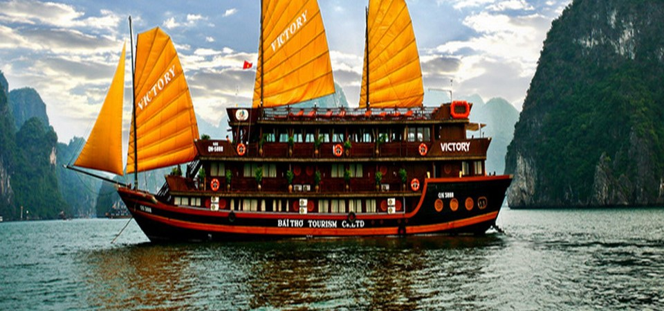 Vietname cruise halong bay