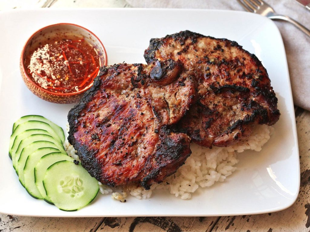 Vietnamese Lemongrass Pork