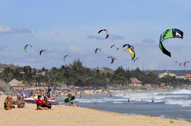 Exciting water sports in mui ne